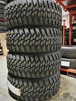 4 New Kanati Mud Hog M/T LT 37X12.50R20 LT37X12.50R20 Load E 10 Ply MT Mud Tires