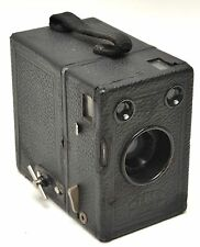 Zeiss Ikon Box Tengor Box Camera W/ Goerz Frontar Lens