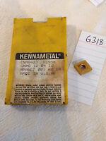 10 NEW KENNAMETAL CNMG 433 CARBIDE INSERTS. GRADE: KC950 {G318}