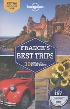 Lonely Planet France's Best Trips (Travel Guide)-ExLibrary
