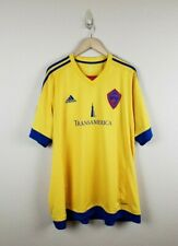 Adidas Colorado Rapids MLS Men's Yellow On-Field Replica Jersey Men's Size 2XL