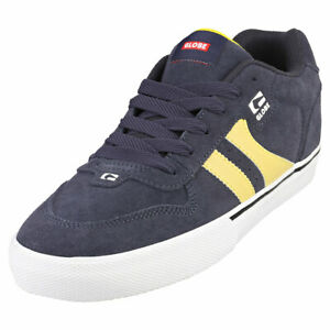 Globe Encore 2 Mens Navy Yellow Casual Trainers - 9 US