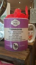 DODO BOOK MUG - TEENAGERS, STILL KNOW EVERYTHING - NEW