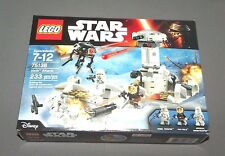 LEGO Star Wars Hoth Attack Set 75138 w Imperial Snowtrooper NEW