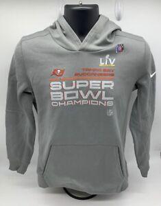 Tampa Bay Buccaneers Nike Youth Super Bowl LV Champions Locker Room Hoodie