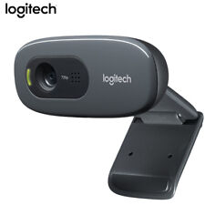 Logitech C270 Webcam Video Camera Auto Focus And Built in Microphone For Desktop