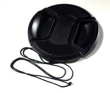 55MM CENTRE PINCH AND GRIP LENS CAP COVER FITS CANON SONY NIKON OLYMPUS FUJI