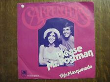 THE CARPENTERS 45 TOURS HOLLANDE PLEASE MR. POSTMAN