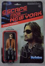Escape From New York Snake Plissken Reaction Figures 1 Signed John Carpenter