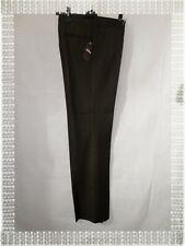 Pantalon de Costume Habillé Marron Chiné Class 3  Olly Gan Taille 40 Neuf