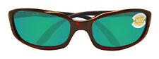 Costa Del Mar BR10OGMP Brine Tortoise Green Polarized 580P 59mm Sunglasses New