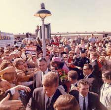 John F. Kennedy - John & Jackie Kennedy at Love Field in Dallas on 11/22/63. # 5
