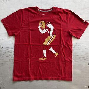 Nike San Francisco 49ers Colin Kaepernick T-Shirt Size XL Equality RARE!