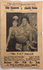 More details for vintage british wrestling advertising flyer jackie pallo etc croydon authentic