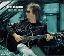 CHRIS NORMAN - Keep Talking (CD Sgl. 2003) Signed!