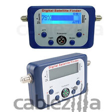 Satellite Finder,Digital Signal Strength Meter FTA DIRECTV Dish alignment COMPAS