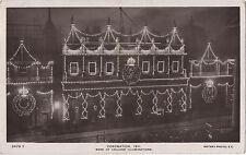 POSTCARD ROYALTY  Coronation 1911 Illuminations