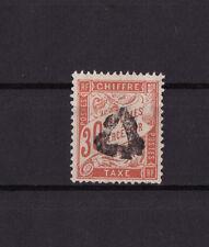 timbre France TAXE   30c rouge orange      num: 34   oblitéré