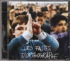 LES FAUTES D'ORTHOGRAPHE (BOF) - BOF (CD)