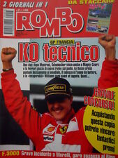 Auto & Sport ROMBO 27 1997 Gp Francia Michael Schumacher domina su Eddie Irvine