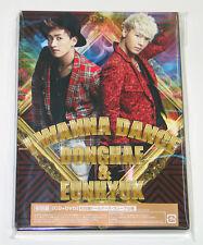 SUPER JUNIOR DONGHAE & EUNHYUK - I WANNA DANCE (CD+DVD LIMITED) JAPAN Version