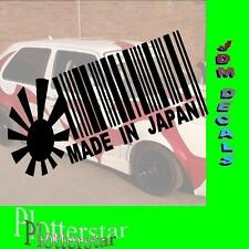 Made in Japan Risingsun nr2 JDM Sticker aufkleber oem Power fun like Shocker