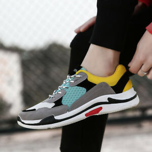 Men's Running Shoes Fashion Sneakers Outdoor Walking Sports Athletic Shoes Size