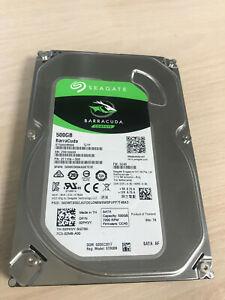 "Seagate Barracuda 500Go, SATA III 3,5"" Disque Dur Interne  Barracuda"