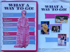 What A Way To Go! DVD Shirley MacLaine, Paul Newman, Dean Martin Widescreen RARE