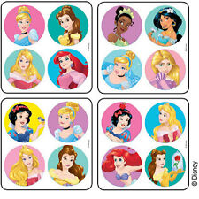 48 Disney Princess Stickers Party Favors Teacher Supply Belle Cinderella Ariel