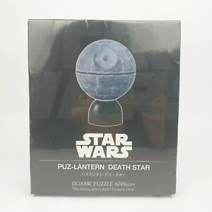 Death Star 60 Piece 3D Jigsaw Puzzle Lantern Light Disney Star Wars Yanoman