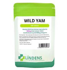 Wild Yam 500mg 100 tablets Menstrual and Menopausal Symptoms Libido Cramps Vegan