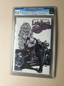 Lady Death Fetishes CGC 9.8 Special Hellish Angel Edition Limited to 1000 2006