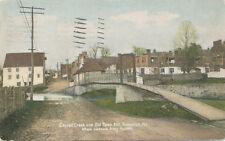 Frederick MD * Carroll Creek & Old Town Mill 1907 * Stonewall Jackson Civil War