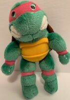 "Vintage 1990's Teenage Mutant Ninja Turtles Raphael 9"" Plush Action Figure RARE"