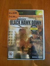 Delta Force Black Hawk Down Xbox Action Packed Battle Game for Players Age 16