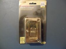 New Stanley 404040 Bright Brass Pocket Door Latch Pull