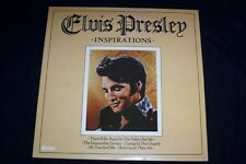 ELVIS PRESLEY LP ELVIS PRESLEY INSPIRATIONS ORIGINAL VG/CONDITION