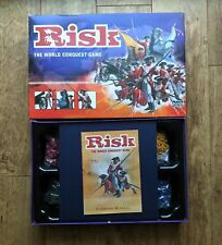 Risk Board Game Parker Brothers 2004 War Modern Preowned