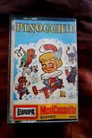 Pinocchio Europa 4158 Hörspiel MC Kassette 70er