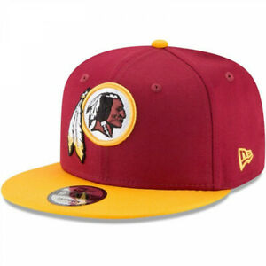 Washington Redskins Burgundy Gold 9Fifty Snapback Hat