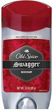 Old Spice Red Zone Deodorant Solid, Swagger 3 oz (Pack of 2)