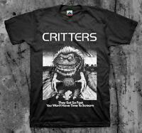 CRITTERS - Movie T Shirt (Classic 80's Cult Comedy Horror)
