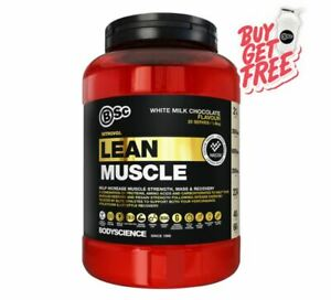 BODY SCIENCE BSC NITROVOL LEAN MUSCLE 1.5KG // RECOVERY PROTEIN POWDER