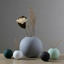 Nordic Style Round Ceramic Flower Small Vase Modern Living Room Table Decoration