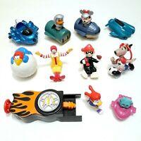 Vintage McDonald's Toys Bundle Lot - Mixed Vintage McDonald's Happy Meal Toys