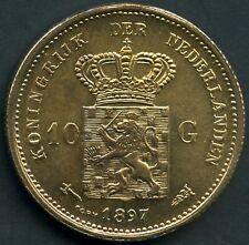 Netherlands Fantasy Token Copy Of 1897 Netherlands 10 Gulden 23mm Diameter