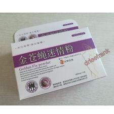 Golden Fly Powder Aphrodisiac Powder - 1 Box = 10 bags - Free Post - Sex Drop