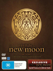 The Twilight Saga: New Moon - Limited Collector's Edition - New DVD Region 4