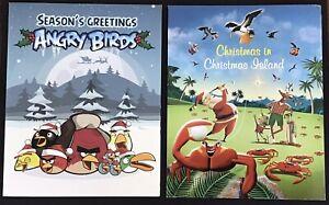 AUSTRALIA 4 POSTPACKS - Angry Birds, Peppa Pig Etc MNH